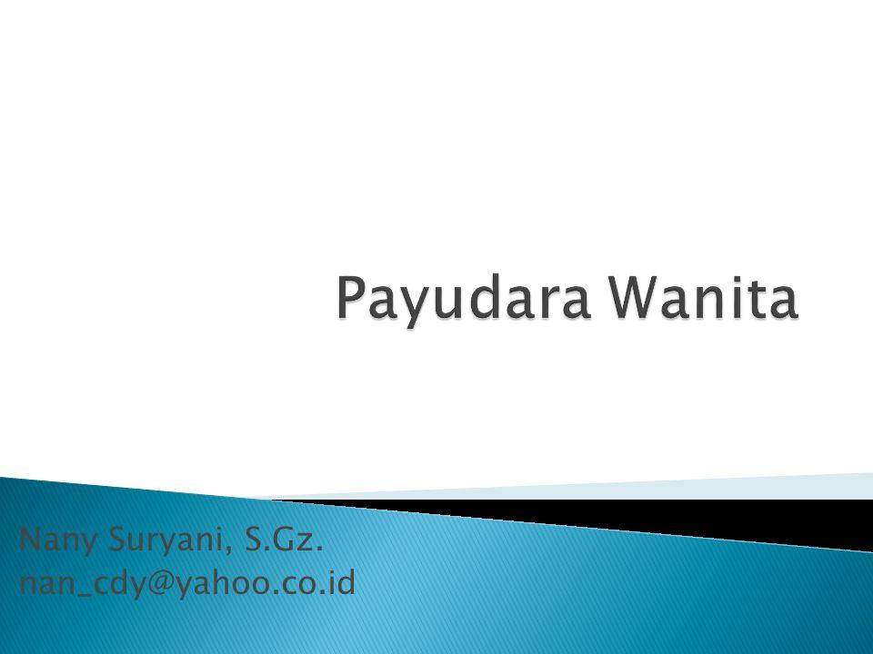 Nany Suryani, S.Gz. nan_cdy@yahoo.co.id