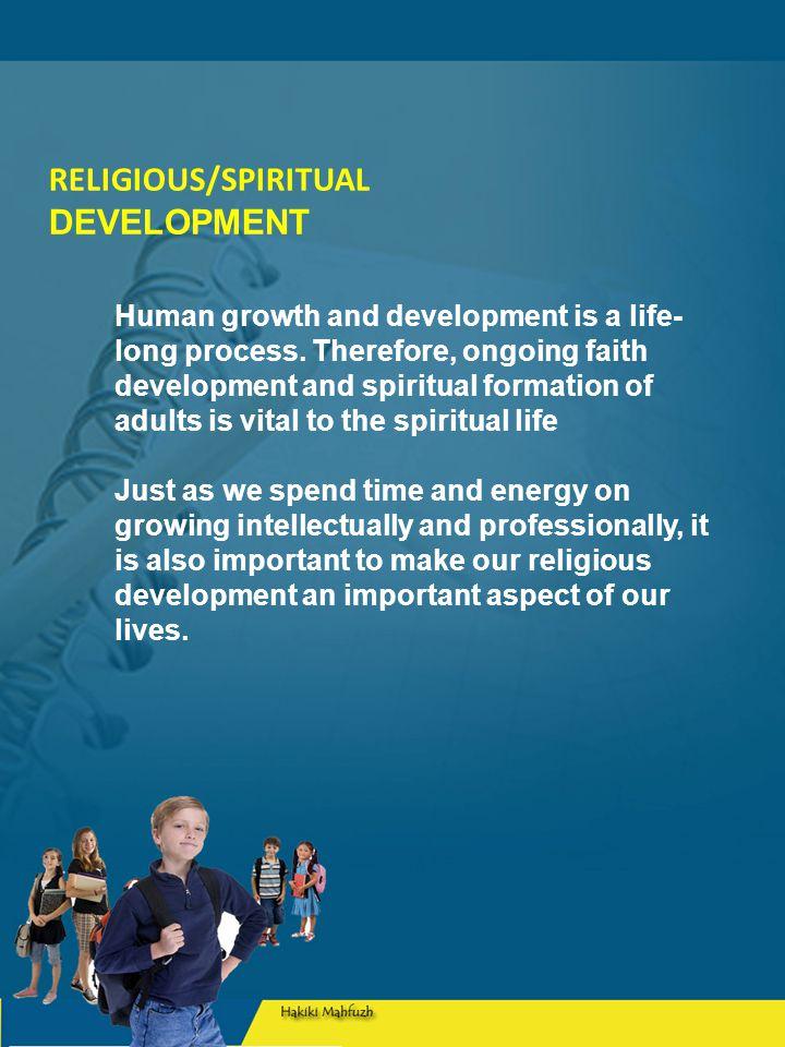 Perkembangan sosial Kehidupan beragama mereka timbul konflik antara pertimbangan moral dan material.