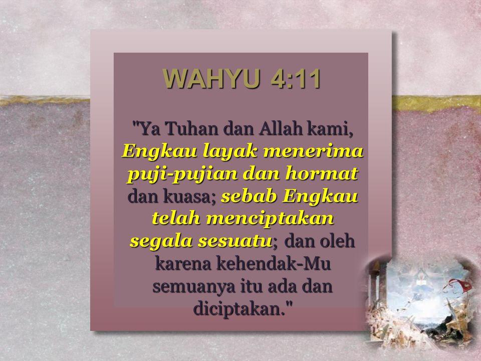 WAHYU 4:11
