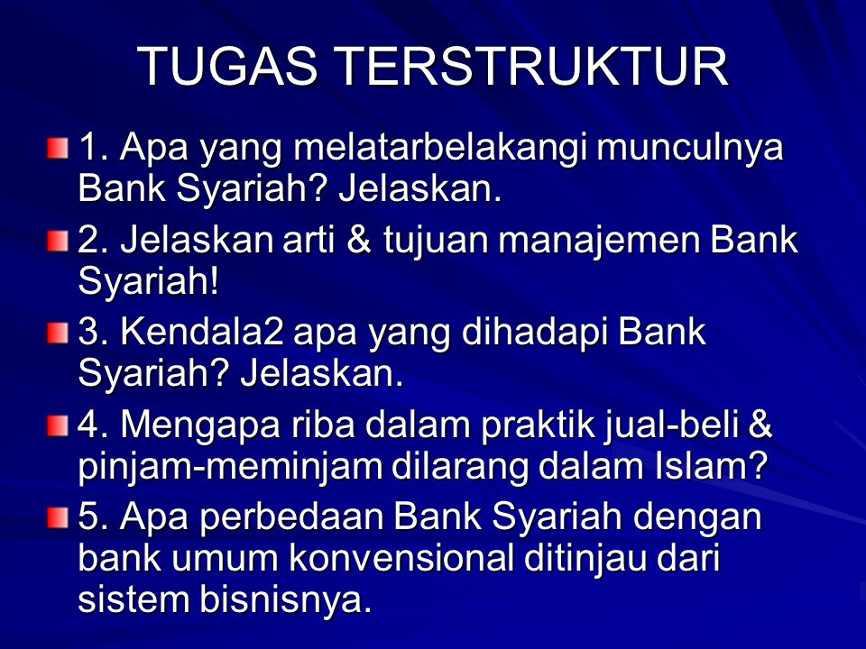 KONDISI UMUM BANK SYARIAH DI INDONESIA Indikator20062007November 2008 Aset (Rp triliun)26,72236,53647,178 DPK (Rp triliun)20,44527,94434,422 Pembiayaa