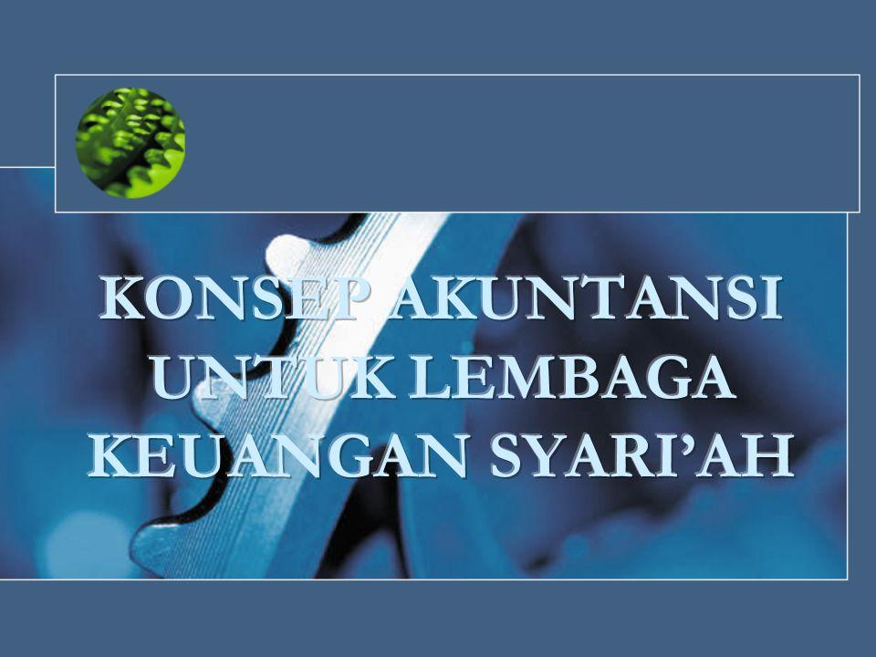 Pedoman Akuntansi Perbankan Syariah Indonesia (PAPSI) Merupakan pedoman teknis pelaksanaan akuntansi bank syariah yang disusun oleh IAI bersama dengan Bank Indonesia (BI) Berisi kodifikasi-kodifikasi yang relevan atas ketentuan perbankan syariah yang berlaku saat ini Digunakan untuk menjelaskan penyusunan pedoman yang sejalan dengan tujuan pelaporan keuangan di bank-bank syariah, yaitu : 1.Pengambilan keputusan investasi dan pembiayaan 2.Menilai prospek arus kas 3.Informasi atas sumber daya ekonomi 4.Kepatuhan bank terhadap prinsip syariah 5.Akuntabilitas bank syariah 6.Fungsi sosial