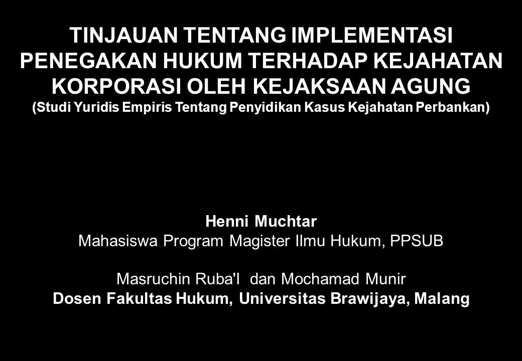 60 JUDUL DISERTASI: Kekuasaan Kehakiman Yang Merdeka (The Independence Of The Judiciary) dan pelaksanaan kekuasaan kehakiman Menurut UUD serta Perunda