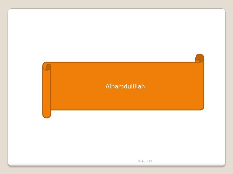 Alhamdulillah 3-Apr-15