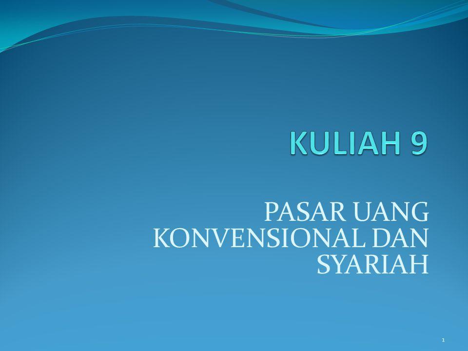 PASAR UANG KONVENSIONAL DAN SYARIAH 1