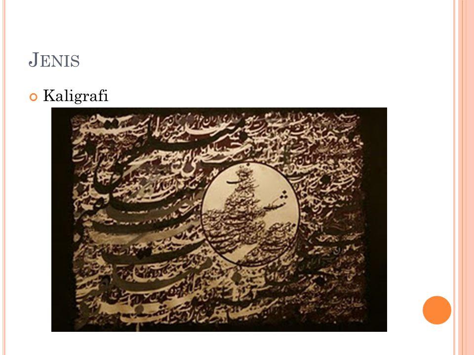 J ENIS Kaligrafi