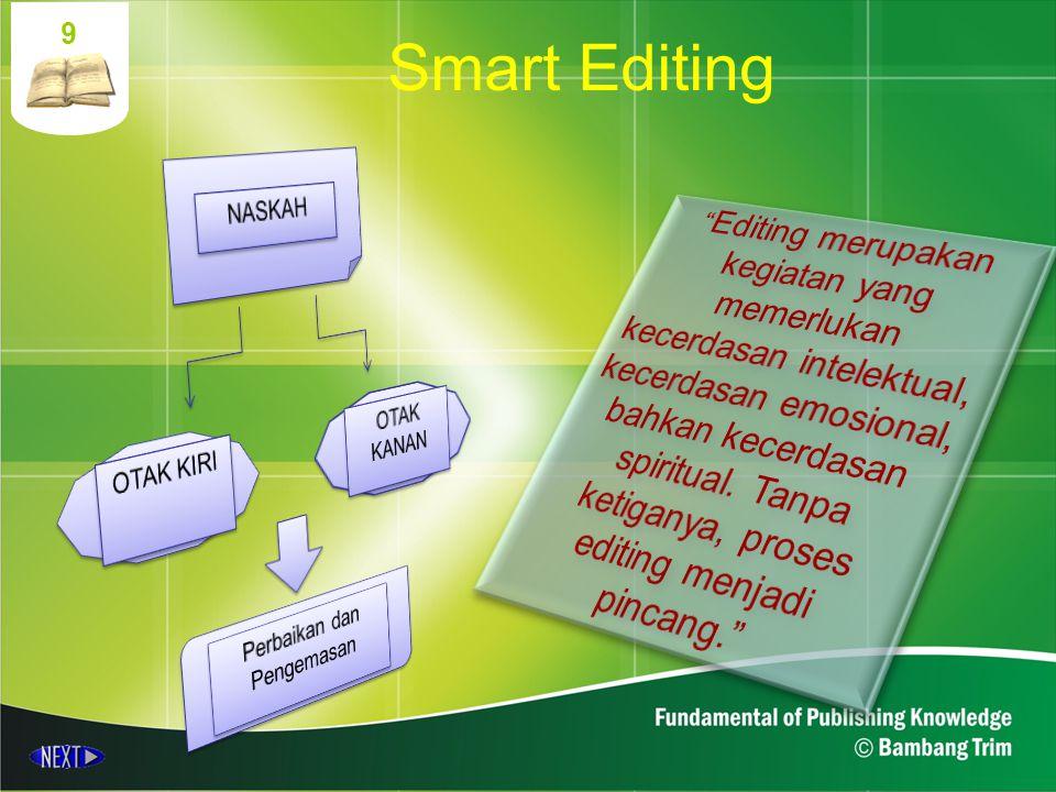 9 Smart Editing