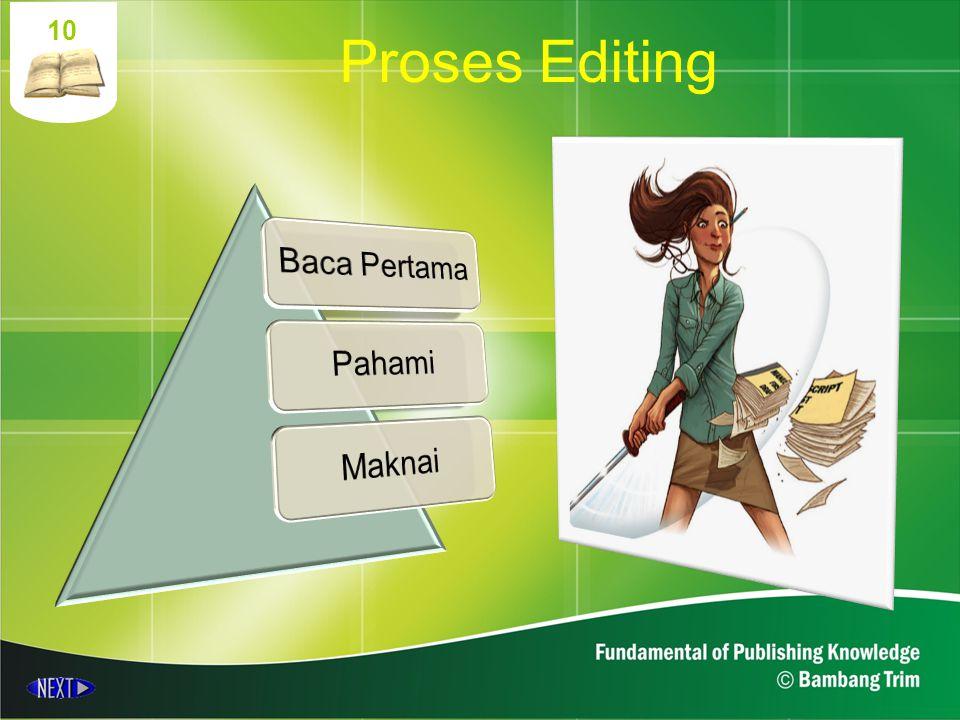 10 Proses Editing