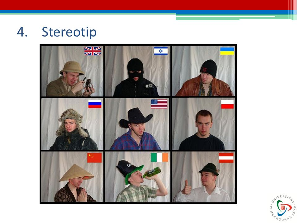4. Stereotip