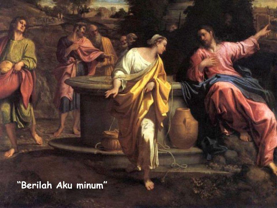 """""""Kata Yesus kepadanya: Berilah Aku minum."""" (Yoh 4:7) Sabda Kehidupan Januari 2015"""