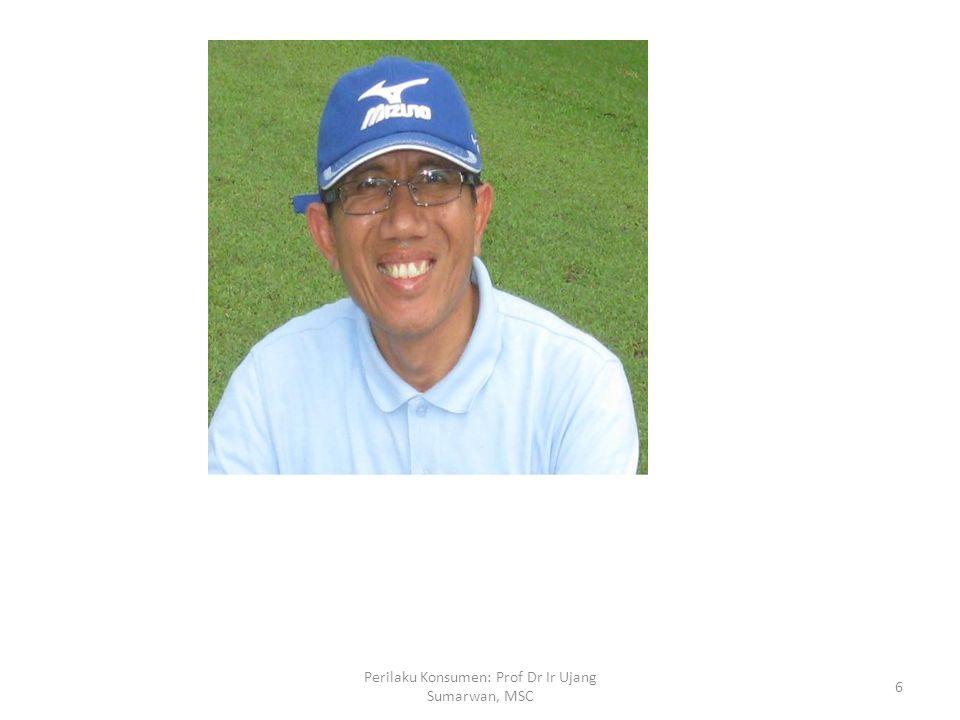 Ujang Sumarwan, lahir di Jakarta 16 September 1960 dari pasangan Almarhum Muhammad Salim dan Hj.