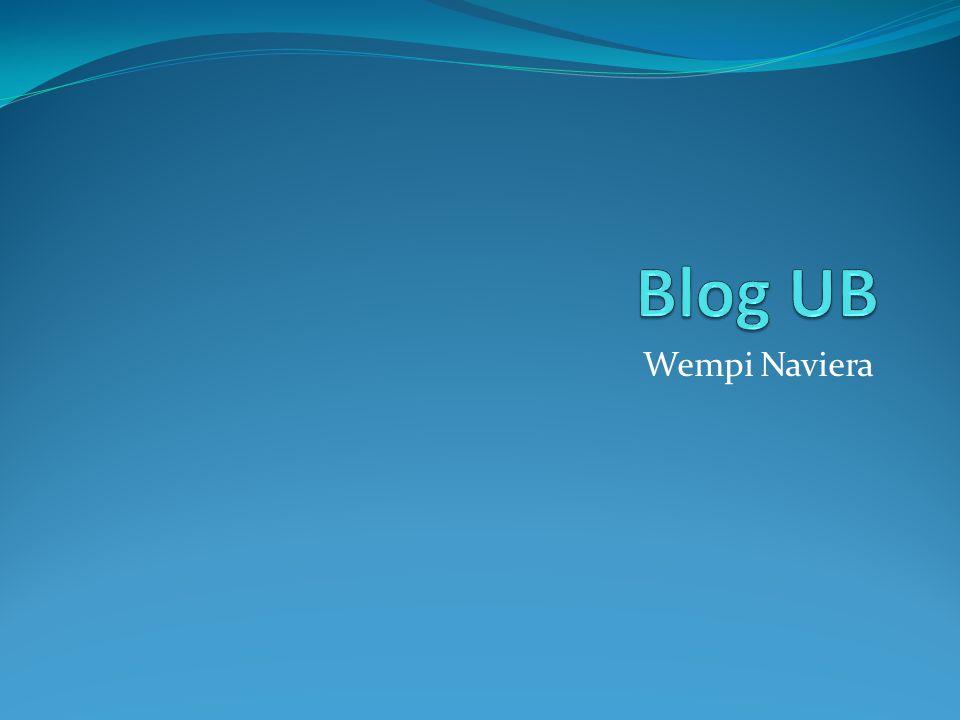Tugas Praktikum MSIP Anda diminta membuat sebuah blog pada domain milik UB dengan alamat http://blog.ub.ac.id Carilah panduan pada halaman tersebut bila Anda kesulitan Pada posting pertama, silakan Anda tuliskan cita-cita Anda setelah lulus dari FIA UB Tulis sebuah email baru yang ditujukan ke wempi@ub.ac.id berisi: Nama (Nama Lengkap Anda) NIM (NIM Anda) Kelas (MSIP Rabu 13.00) Alamat blog Anda (http://blog.ub.ac.id/namabloganda/) Pekerjaan Anda sudah harus selesai dan email sudah harus terkirim sebelum jam 16.00 WIB hari ini.