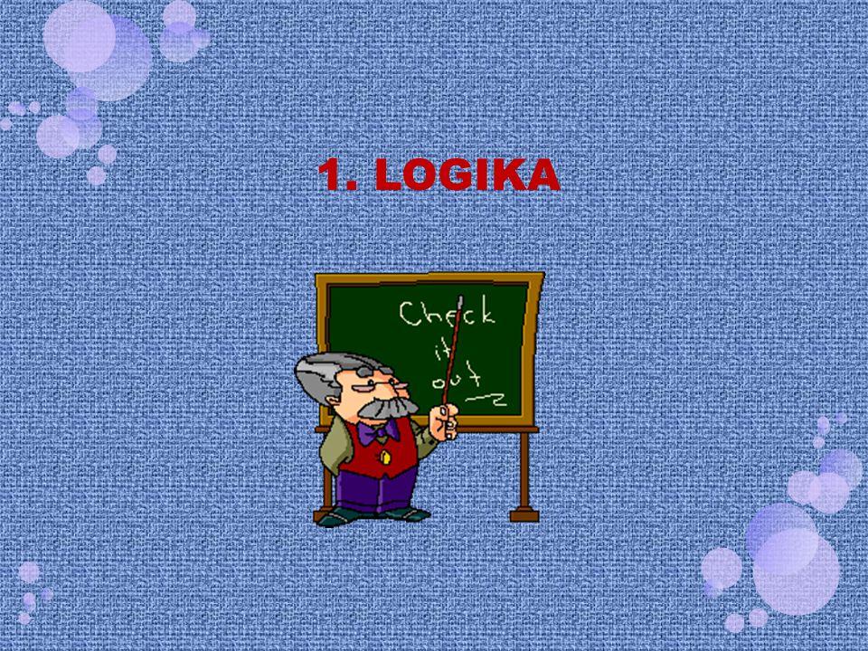 Logika adalah metode atau teknik yang diciptakan untuk meneliti ketepatan penalaran serta mengkaji prinsip-prinsip penalaran yang benar dan penarikan kesimpulan yang absah.