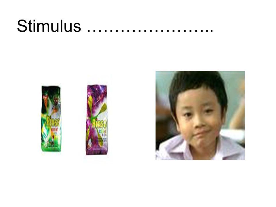 Stimulus …………………..
