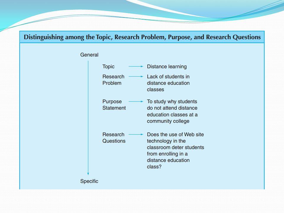 Kesalahan umum dalam menyatakan masalah penelitian sebagai tujuan penelitian atau sebagai pertanyaan penelitian Model yang keliru: Peneliti bermaksud mengidentifikasi masalah penelitian tetapi malah menyajikannya sebagai tujuan penelitian.