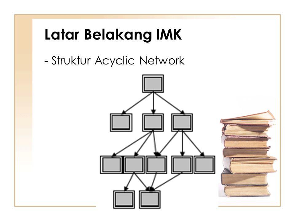 Latar Belakang IMK - Struktur Acyclic Network
