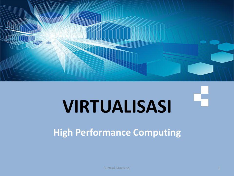 Tidak semua aspek lingkungan disimulasikan tidak semua perangkat-lunak dapat langsung berjalan, beberapa perlu disesuaikan untuk dapat berjalan dalam lingkungan virtual ini Virtual Machine22 Virtualisasi Sebagian