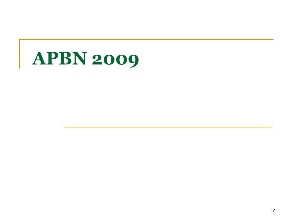 APBN 2009 10