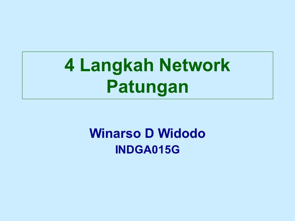 4 Langkah Network Patungan Winarso D Widodo INDGA015G