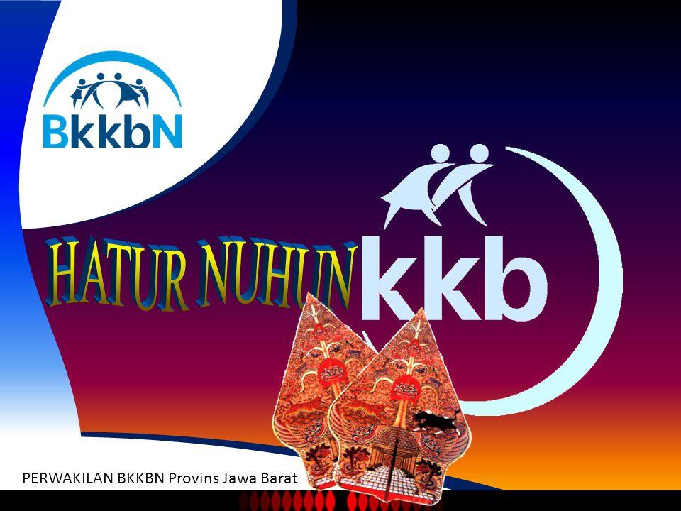 BADAN KEPENDUDUKAN KELUARGA BERENCANA NASIONAL PERWAKILAN BKKBN Provins Jawa Barat