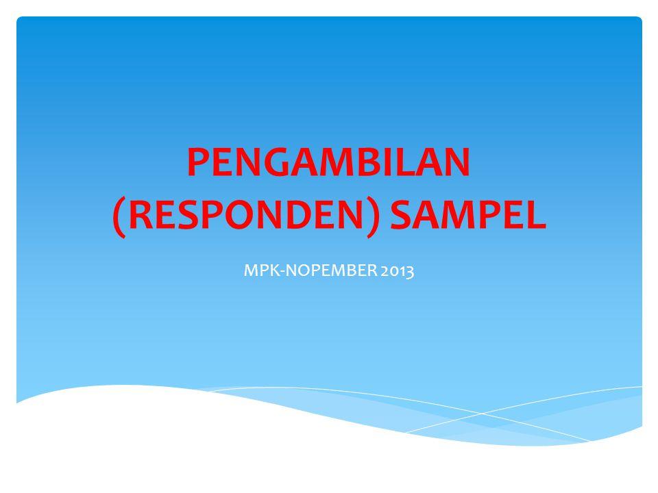  Persoalan sampel merupakan persoalan yang krusial dalam penelitian komunikasi kualitatif.