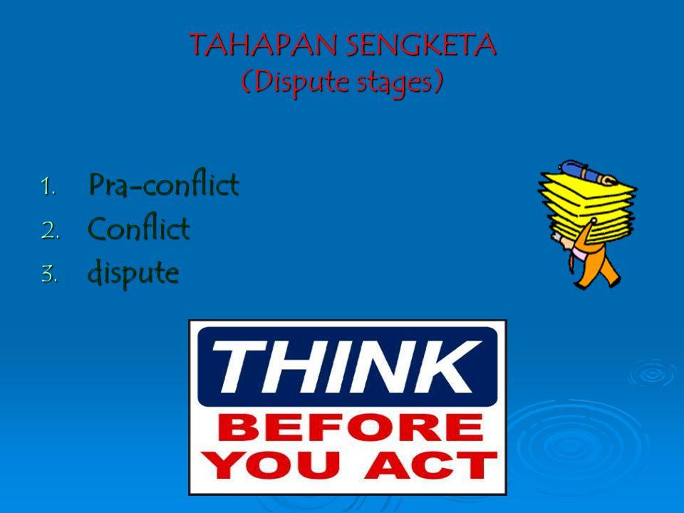 Jalur litigasi (pengadilan) hukum acara (substantive & prosedural law) Jalur non litigasi (LUAR PENGADILAN)  Negosiasi  Mediasi  Musyawarah  K