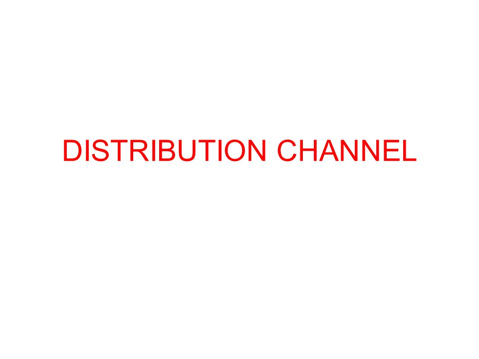 Economic Criteria : It estimates the sales of each channel would produce and the cost of selling different volumes through each channel.