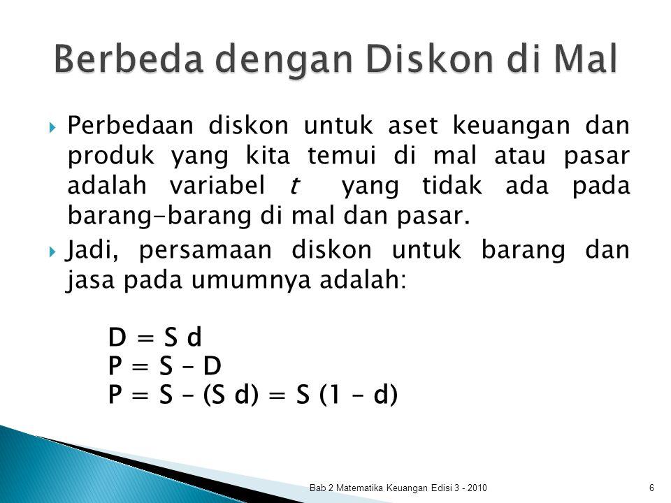 Bab 2 Matematika Keuangan Edisi 3 - 201017