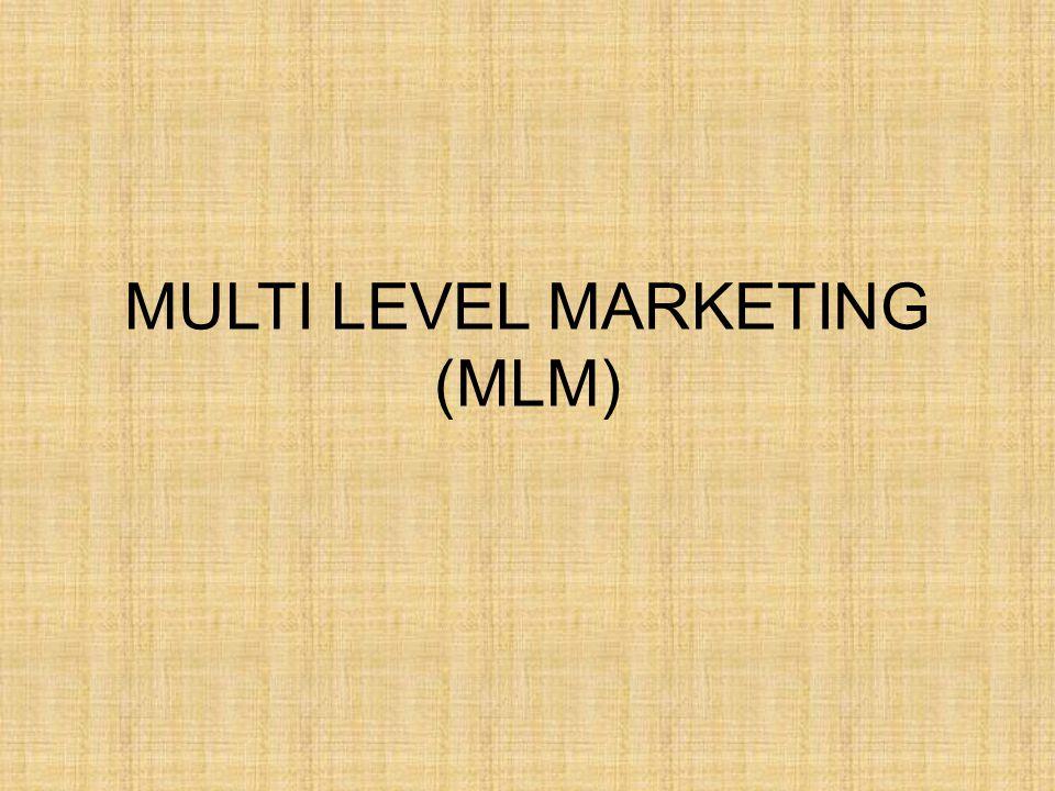 Pengertian MLM Adalah penjualan secara bertingkat dari distributor mandiri yang memiliki peluang untuk mendapatkan penghasilan dalam 2 cara.