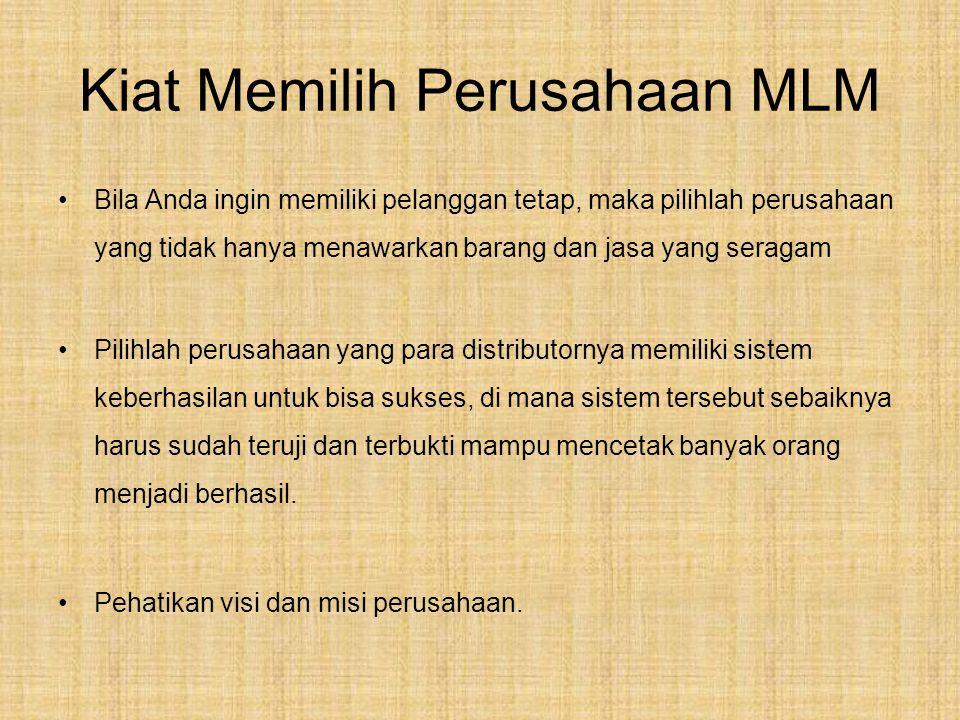 MLM dalam Syariah Pada dasarnya bisnis MLM dan bisnis yang lain kurang lebih sama saja.