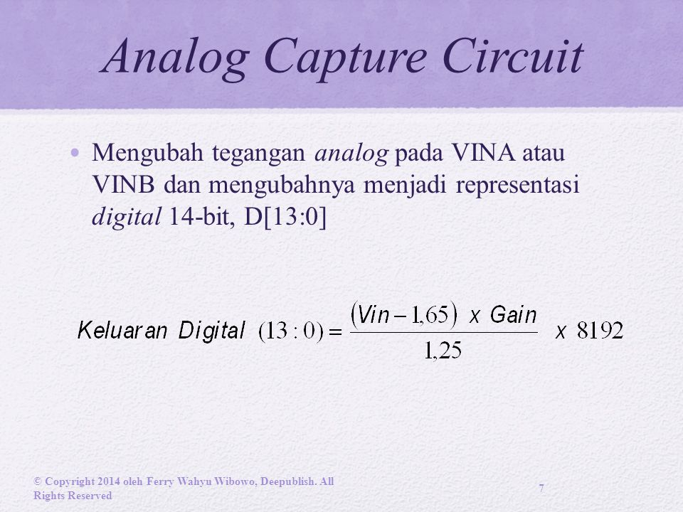 Programmable Pre- Amplifier © Copyright 2014 oleh Ferry Wahyu Wibowo, Deepublish.
