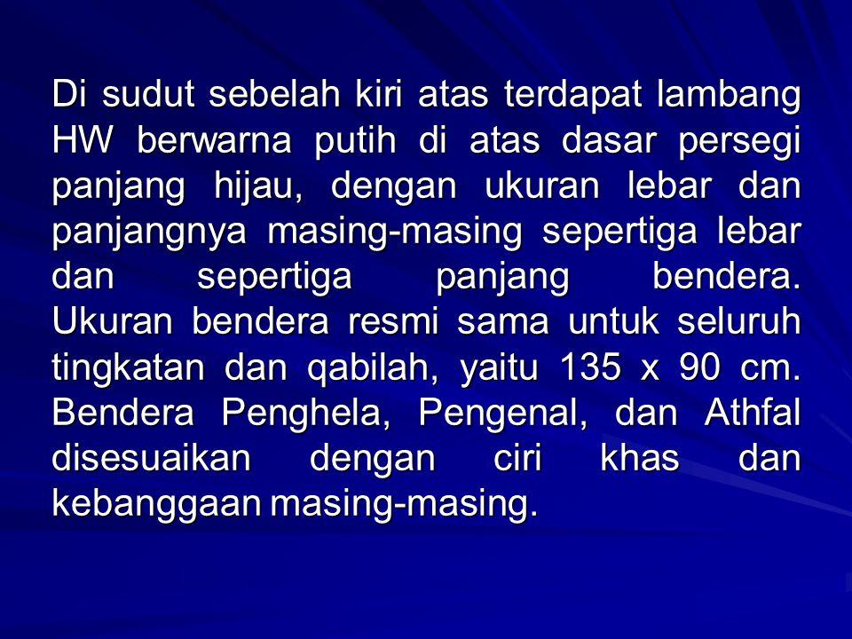IV. Mars dan Himne Mars resmi HW adalah Mars HW dan Himne HW adalah Hizbul Wathan Pandukku