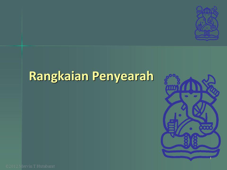©2012 Mervin T Hutabarat Rangkaian Penyearah 1