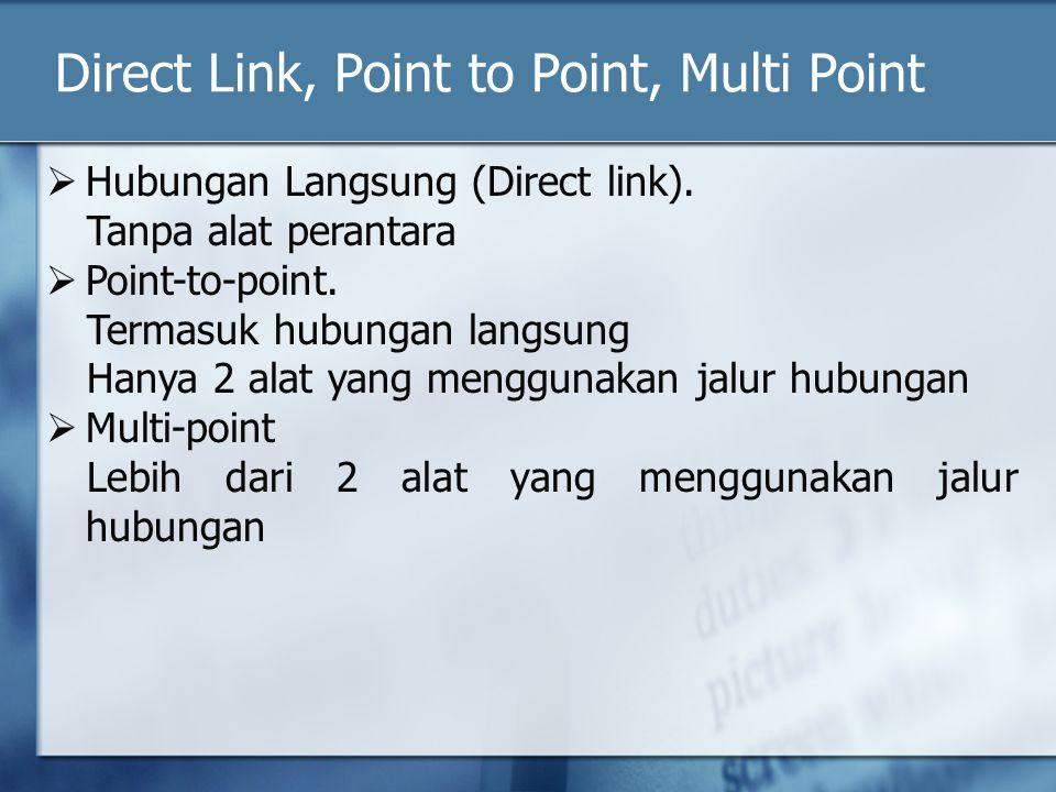 Kontrol Transmisi NAK ( Negative Acknowledgement).