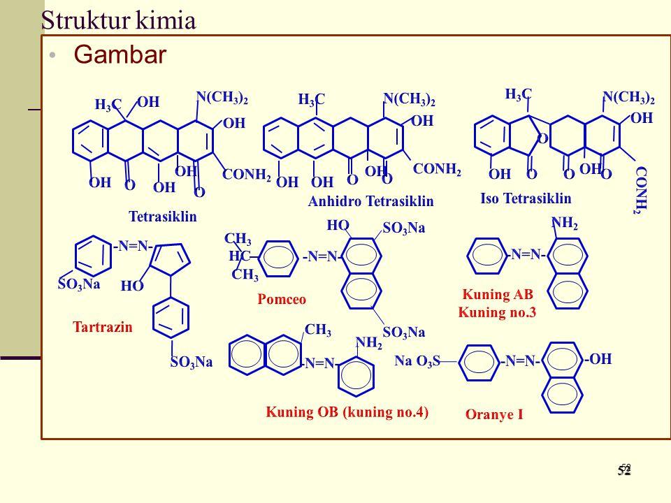 Struktur kimia Gambar 5252