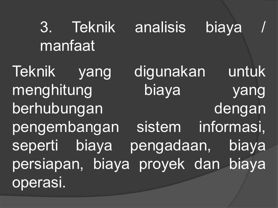2. Teknik untuk menemukan fakta Teknik yang dapat digunakan untuk mengumpulkan data dan menemukan fakta-fakta dalam kegiatan mempelajari sistem yang a