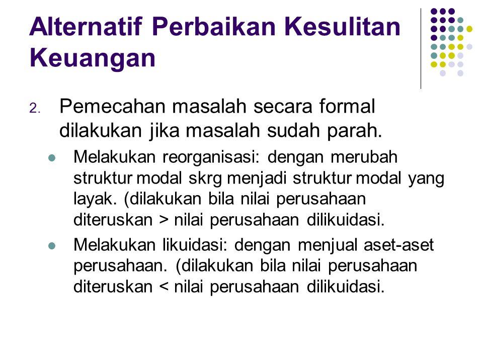Tugas Lakukan analisis prediksi kebangkrutan terhadap laporan keuangan PT Mustika Ratu Tbk.