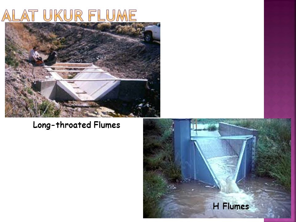 Long-throated Flumes H Flumes