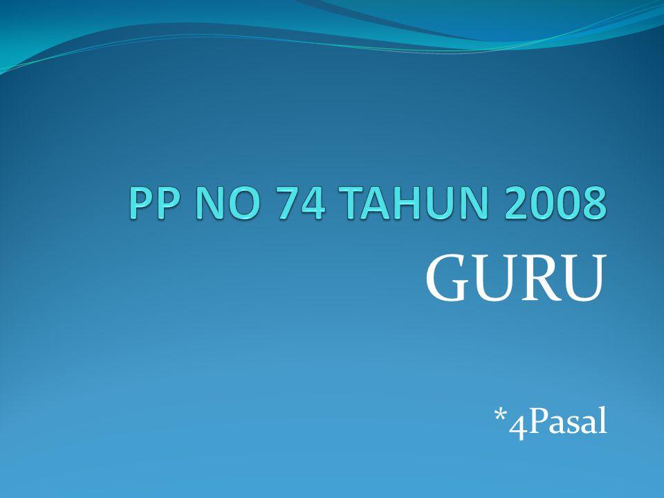 GURU *4Pasal