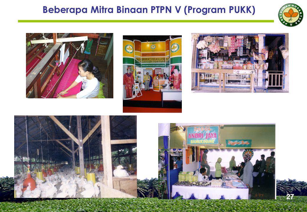 Beberapa Mitra Binaan PTPN V (Program PUKK) 27