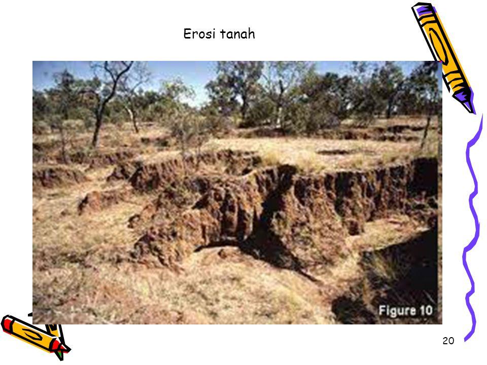 20 Erosi tanah