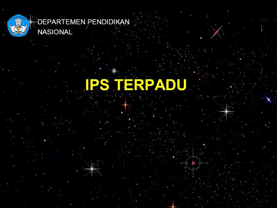 IPS TERPADU DEPARTEMEN PENDIDIKAN NASIONAL