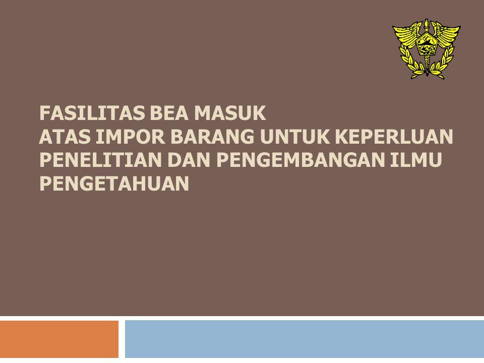 Dasar Hukum 1.PASAL 25 AYAT (1) HURUF F UNDANG- UNDANG NOMOR 10 TAHUN 1995 JO.