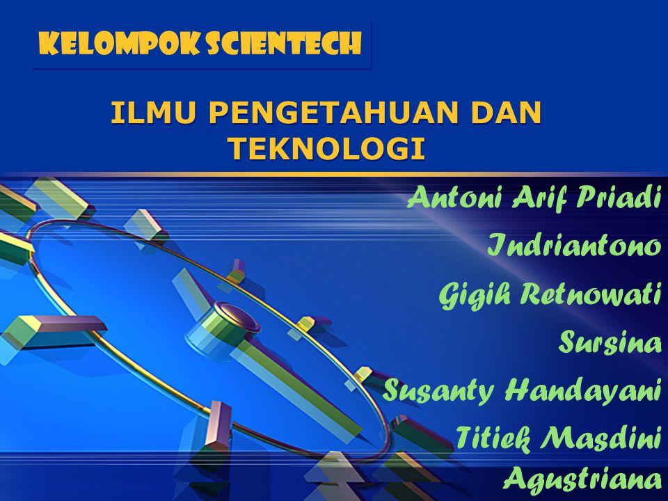 Agenda Presentasi 1.Perbedaan Teknologi dengan Ilmu dan Ilmu Terapan 2.Teori & Pola Hubungan Teknologi dengan Ilmu 3.Simbiosis antara Teknologi dengan Ilmu