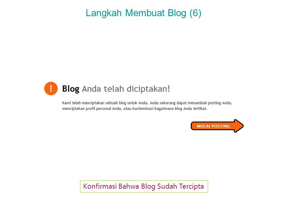 Langkah Membuat Blog (7) Menulis Posting