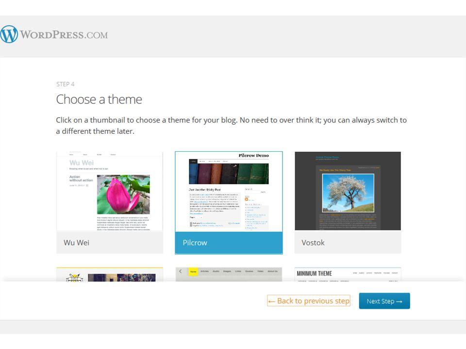 Tahap selanjutnya kamu diminta untuk memberi Judul Blog, Tagline, dan Bahasa pada blog yang baru saja sobat buat.