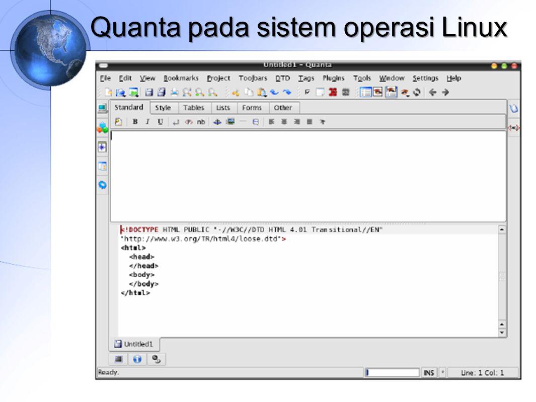 Quanta pada sistem operasi Linux