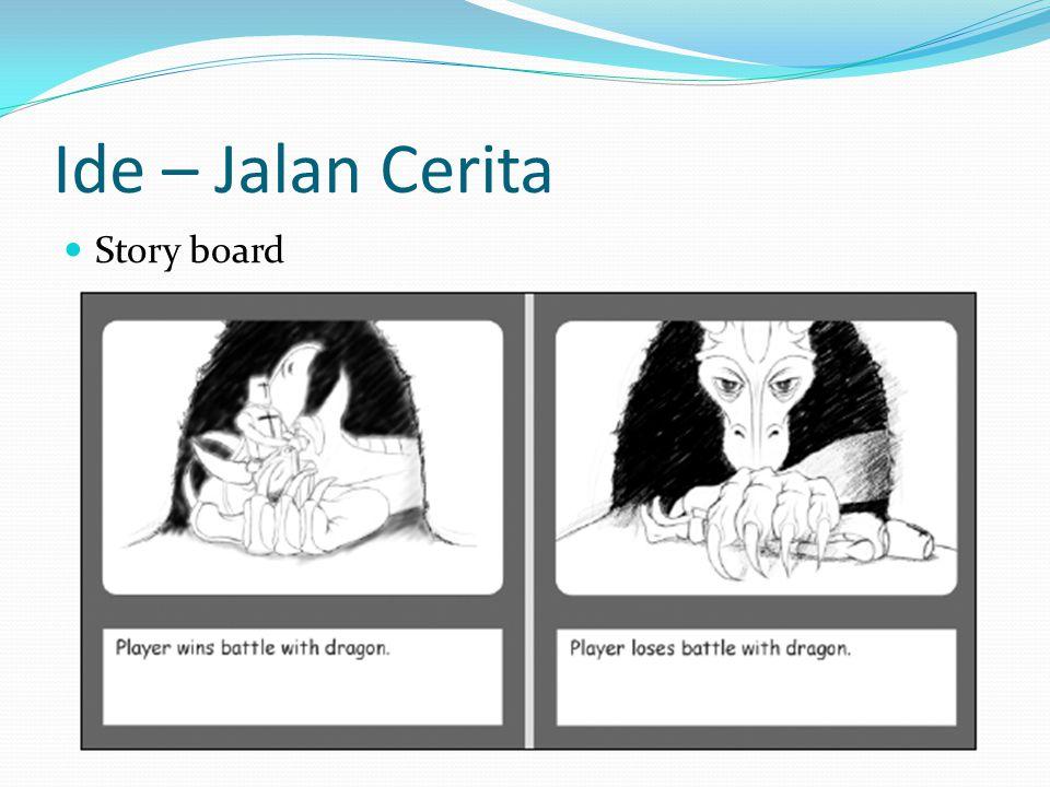 Ide – Jalan Cerita Story board