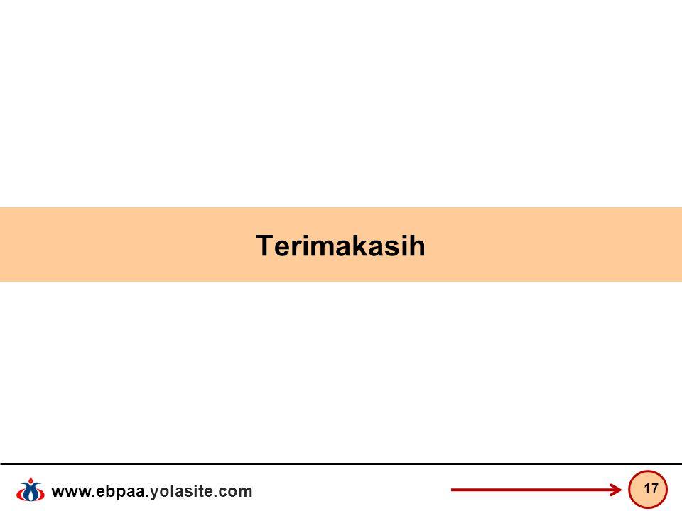 www.ebpaa.yolasite.com Terimakasih 17