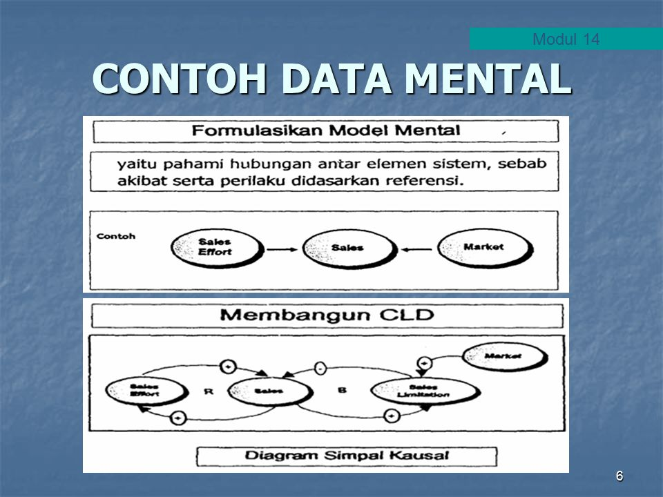 6 CONTOH DATA MENTAL Modul 14