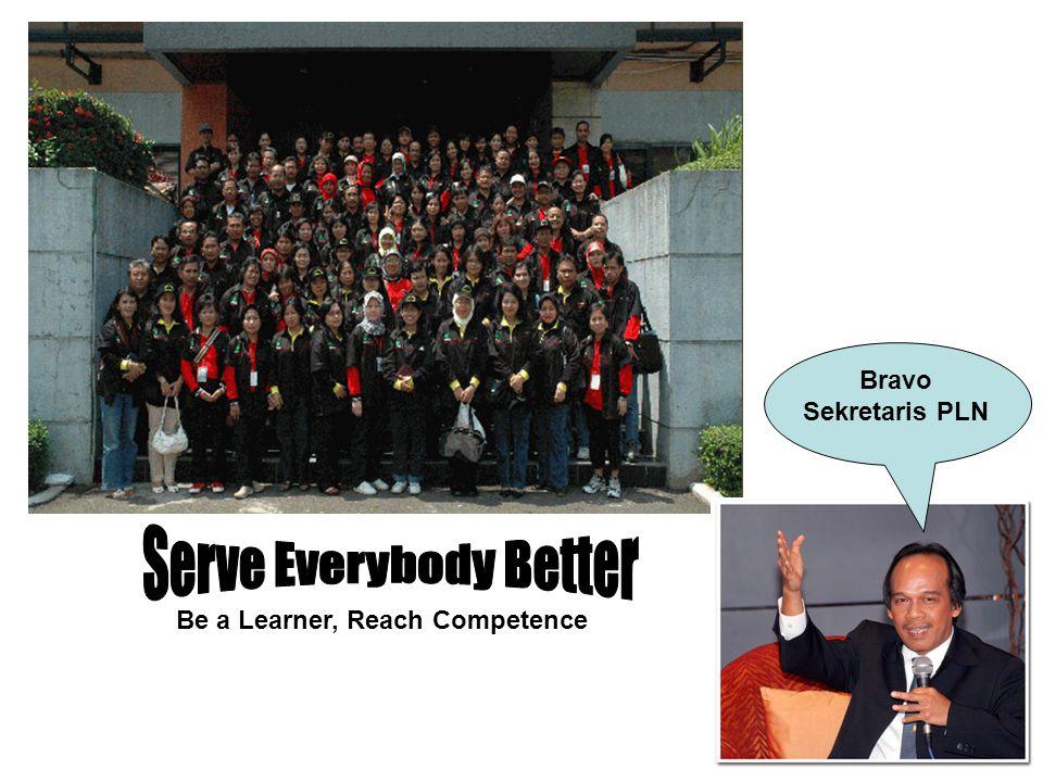 Bravo Sekretaris PLN Be a Learner, Reach Competence